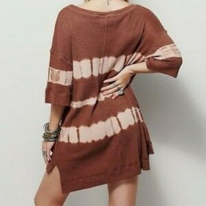 We The Free People Canyon thermal tunic dress